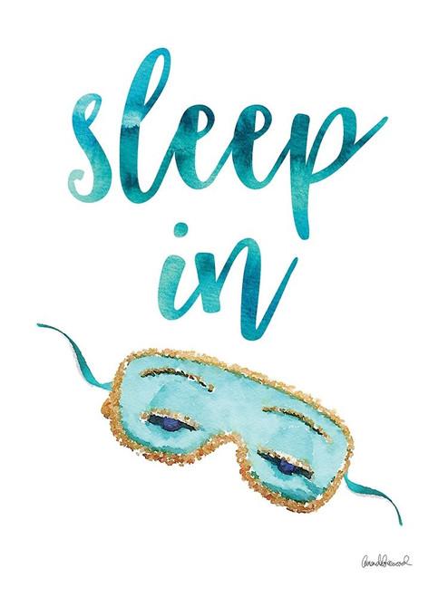 Sleep In Poster Print by Amanda Greenwood # AGD115524