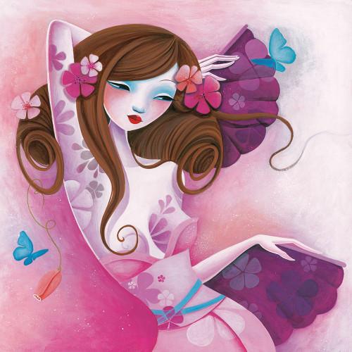 La danse des papillons Poster Print by Sybile Sybile # A554