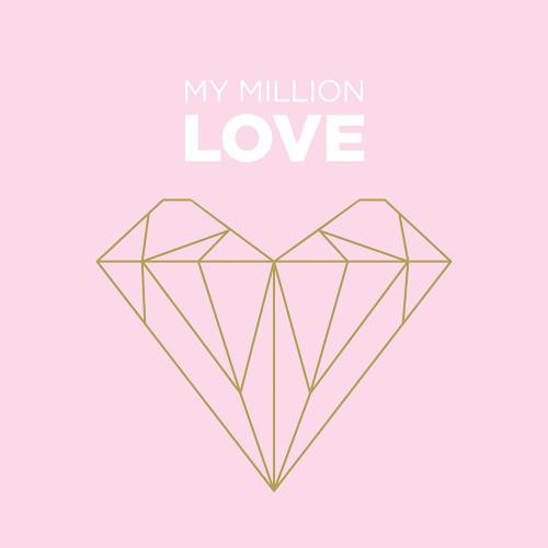 My Million Love Poster Print by Braun Studio Braun Studio # A667