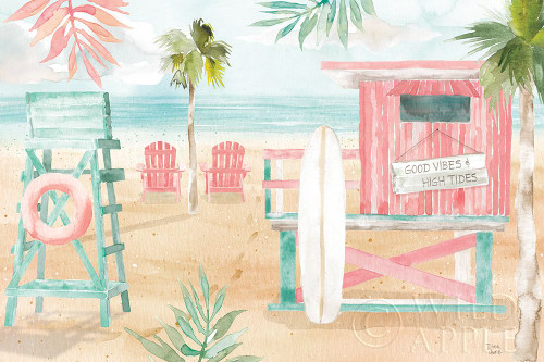 Surfs Up II Poster Print by Dina June # 65080