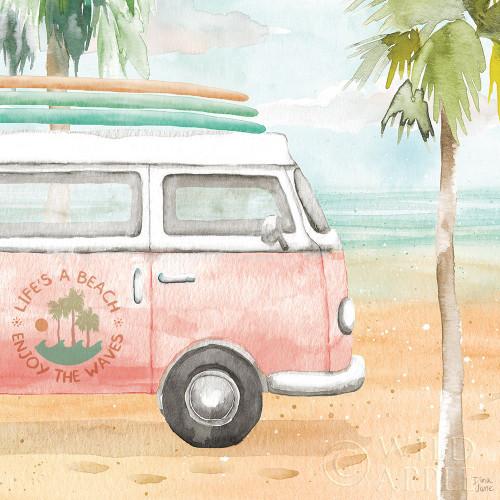 Surfs Up V Poster Print by Dina June # 65083