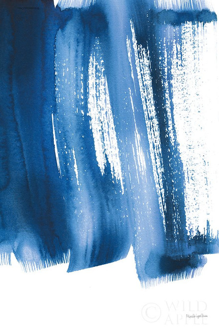 Bold Blue I Poster Print by Mercedes Lopez Charro # 64826