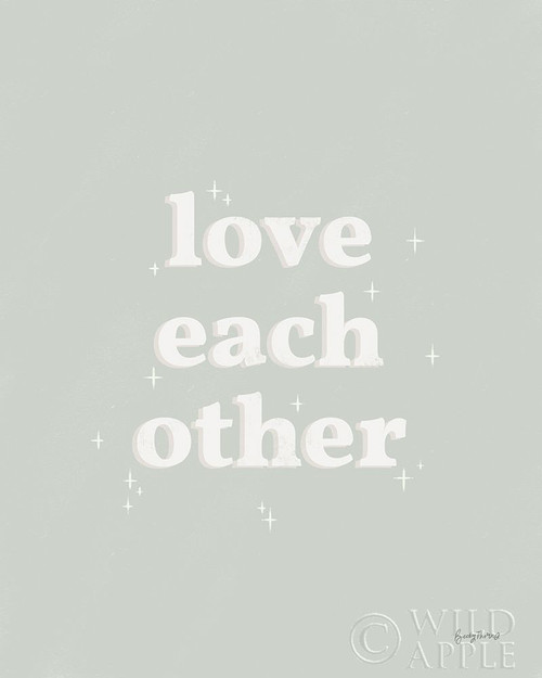 Love Each Other Neutral Poster Print by Becky Thorns # 64715
