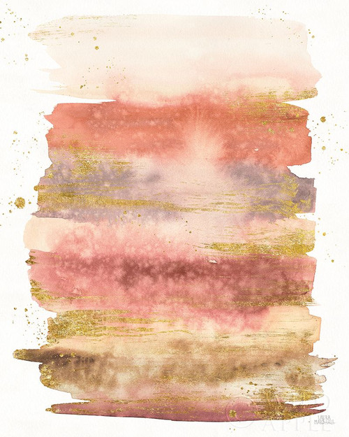 Desert Blooms Abstract II Poster Print by Laura Marshall # 64849