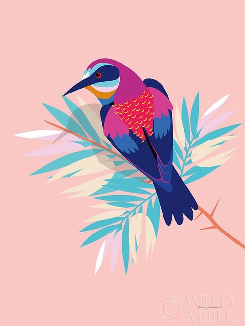 Exotic Birds II Poster Print by Omar Escalante # 64630