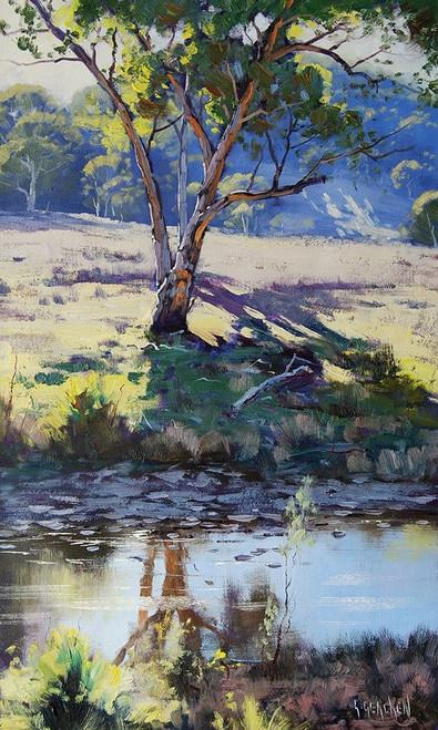 Long Creek Australia Poster Print by Graham Gercken # 6GEKE218