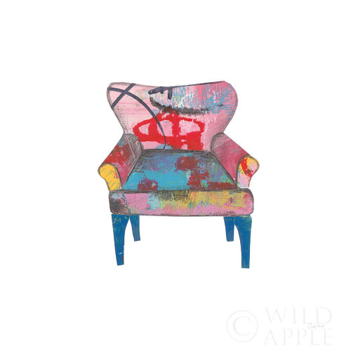 Mod Chairs VIII Poster Print by Courtney Prahl # 64276