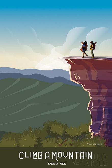 Climb a Mountain Poster Print by Omar Escalante # 65936