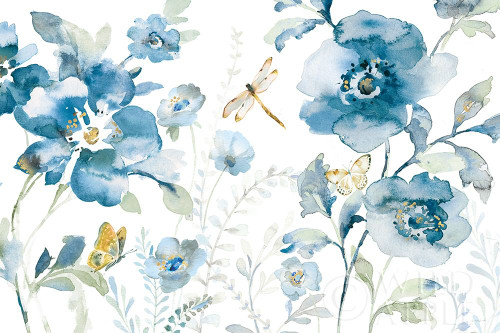 Blues of Summer V Poster Print by Danhui Nai # 63928