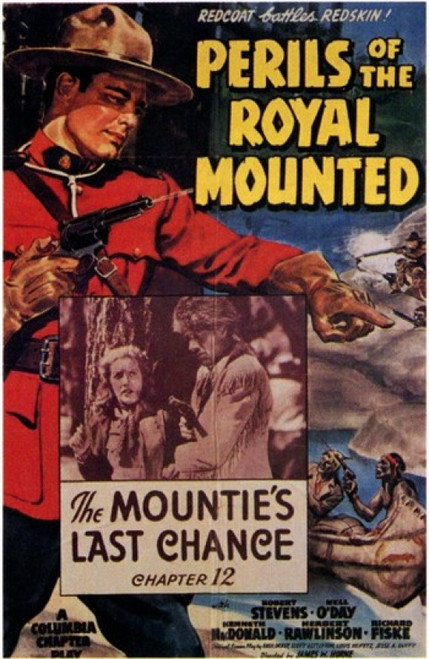 Perils of the Royal Mounted Movie Poster (11 x 17) - Item # MOV202766