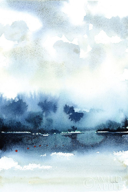 Deep Blue Lake Poster Print by Katrina Pete # 65950