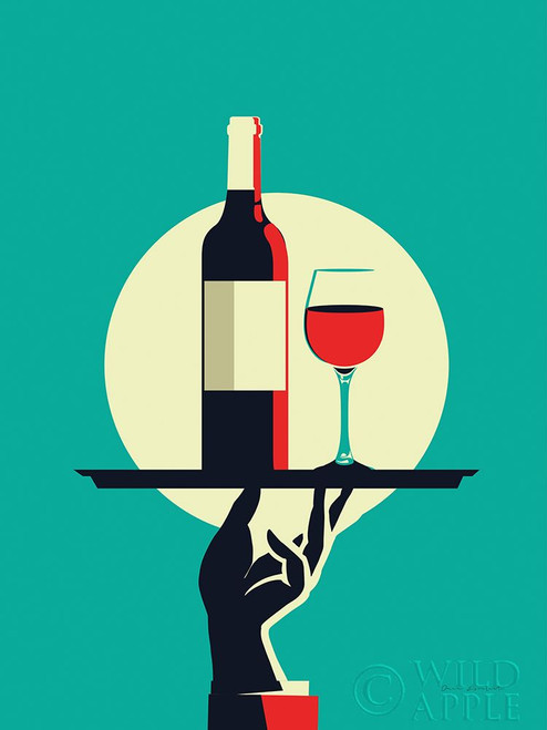 Red Wine Poster Print by Omar Escalante # 63993