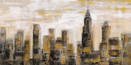 Manhattan Skyline Poster Print by Silvia Vassileva # 65669