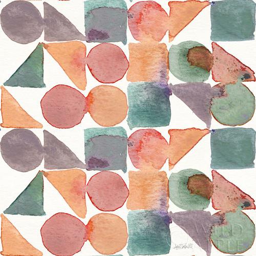 Soft Figures Pattern III Poster Print by Anne Tavoletti # 65817