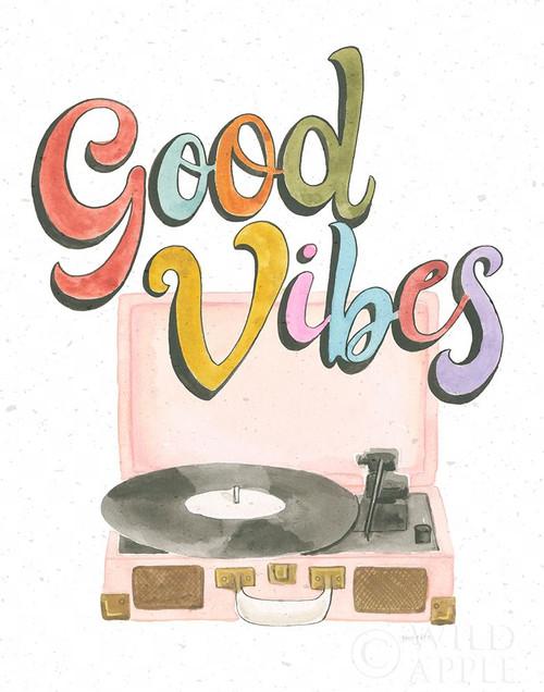 Retro Vibes II Poster Print by Jenaya Jackson # 65930
