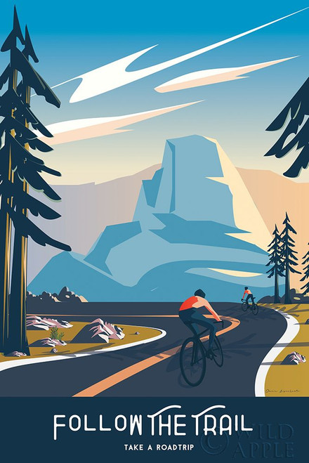 Follow the Trail Poster Print by Omar Escalante # 65933