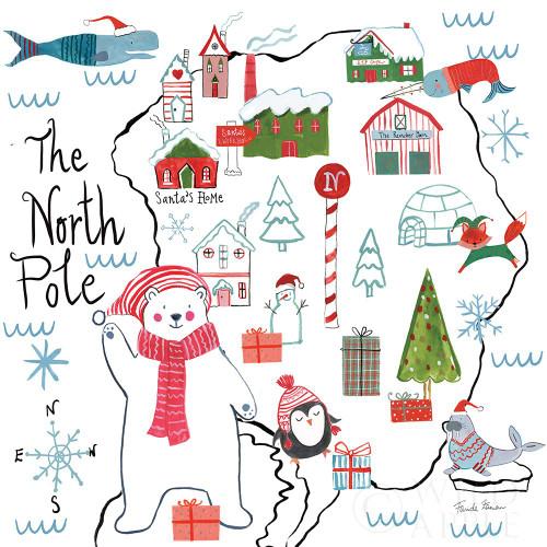 North Pole Pals I Poster Print by Farida Zaman # 65611