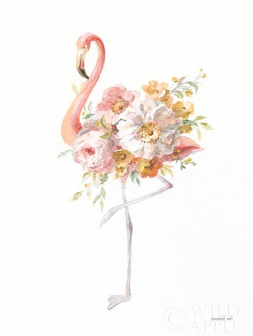 Floral Flamingo II Poster Print by Danhui Nai # 63250