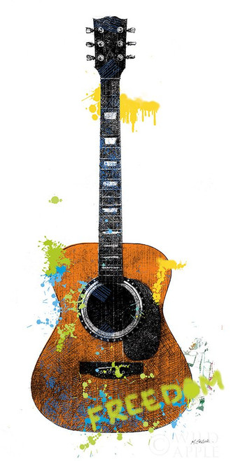 Garage Band II Graffiti Poster Print by Mike Schick # 63157