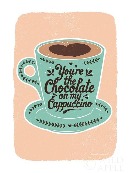 Chocolate on My Cappucino Poster Print by Alexandra Snowdon # 63291