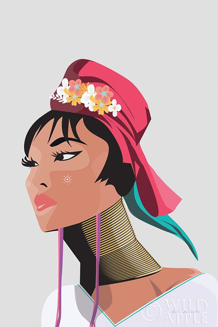 Padaung Woman Poster Print by Omar Escalante # 62770