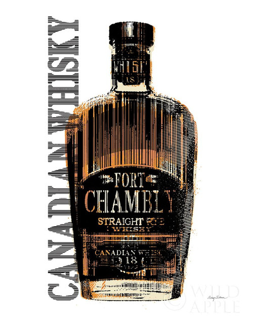 Canadian Whisky Poster Print by Avery Tillmon # 62677