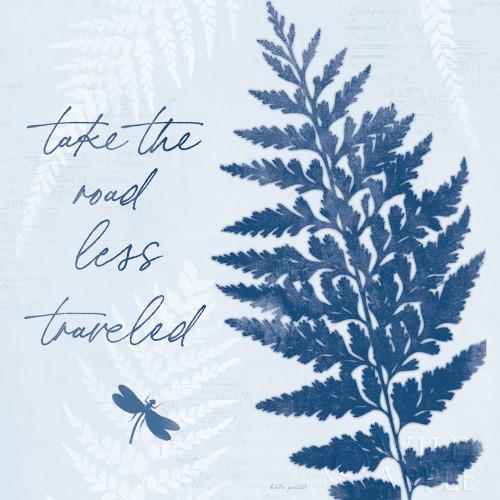 True Blue V Poster Print by Katie Pertiet # 62865