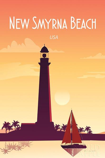 New Smyrna Beach Poster Print by Omar Escalante # 62761