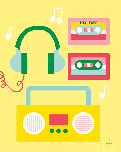 Lets Listen to Music II Poster Print by Ann Kelle # 62582
