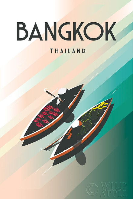 Bangkok Thailand Poster Print by Omar Escalante # 62763