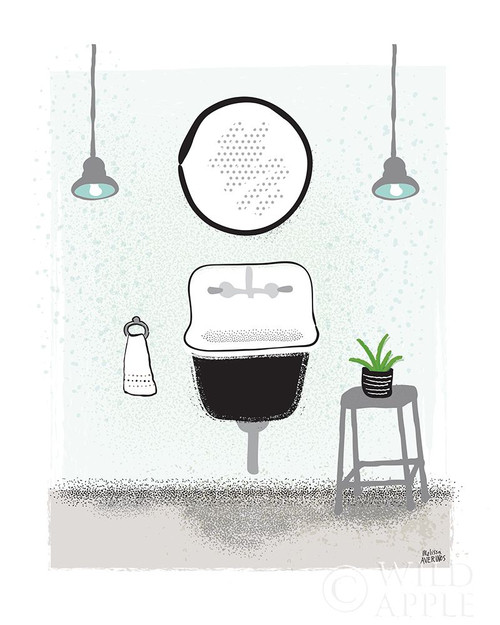 Bold Bath II Neutral Poster Print by Melissa Averinos # 62624