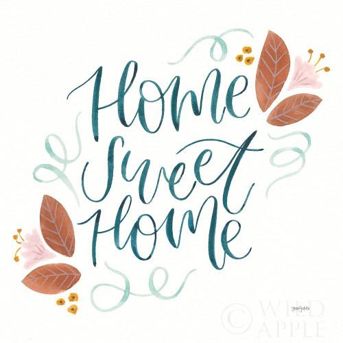Home Sweet Home I Poster Print by Jenaya Jackson # 62724