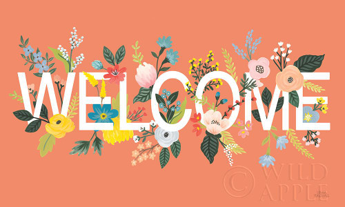 Wild Garden I Welcome Poster Print by Laura Marshall # 62412