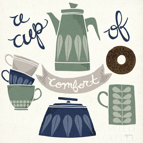 A Cup of Comfort Winter Poster Print by Mary Urban # 62316