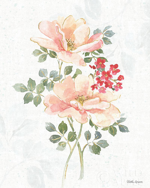 Floral Focus VIII Poster Print by Beth Grove # 62329