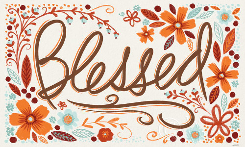 Blessed I Poster Print by Anne Tavoletti # 62459