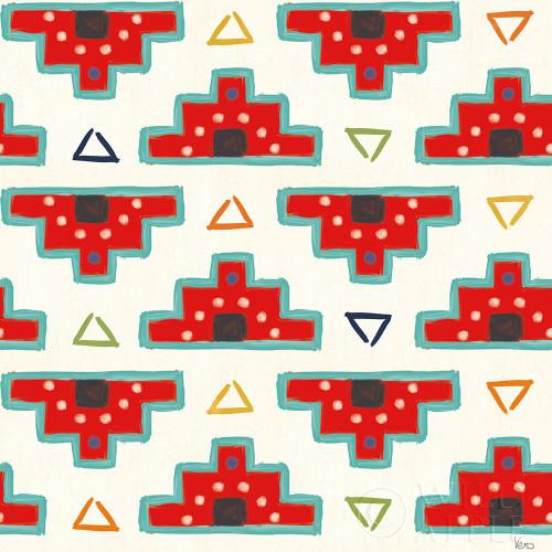 Tex Mex Fiesta Pattern III Poster Print by Veronique Charron # 61941