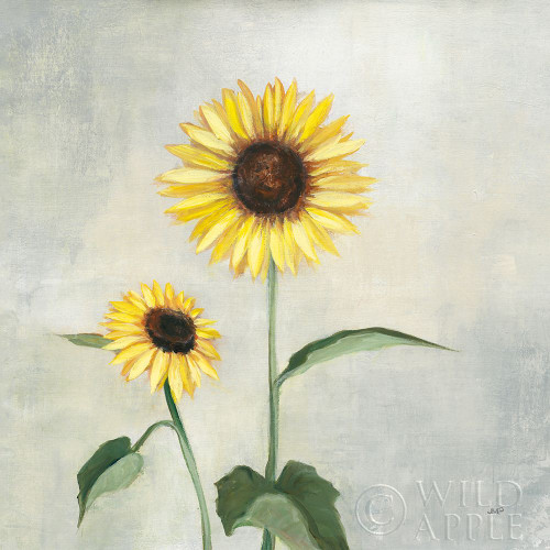 Sunny Blooms I Poster Print by Julia Purinton # 62195