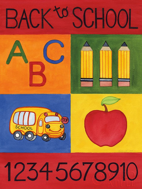 Back to School Poster Print by Kathleen Parr McKenna # 61870