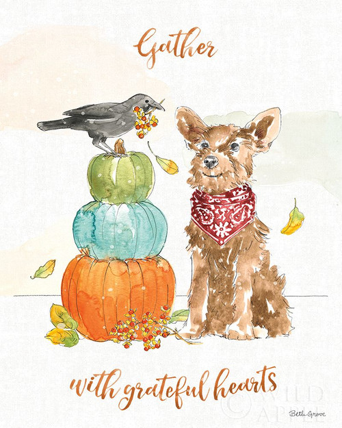Harvest Dogs V Poster Print by Beth Grove # 61657