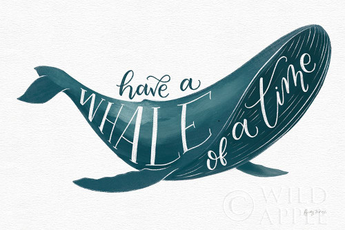 Whale of A Time Poster Print by Becky Thorns # 61410