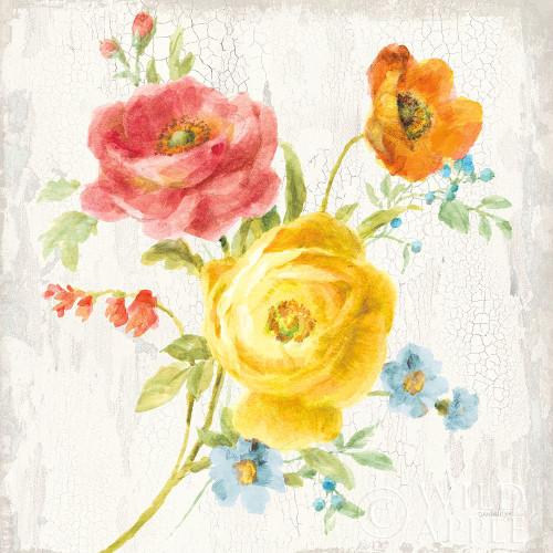 Full Bloom V Poster Print by Danhui Nai # 61371