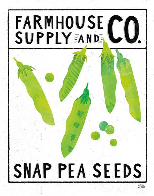 Kitchen Garden Seed Packet II Poster Print by Melissa Averinos # 60955