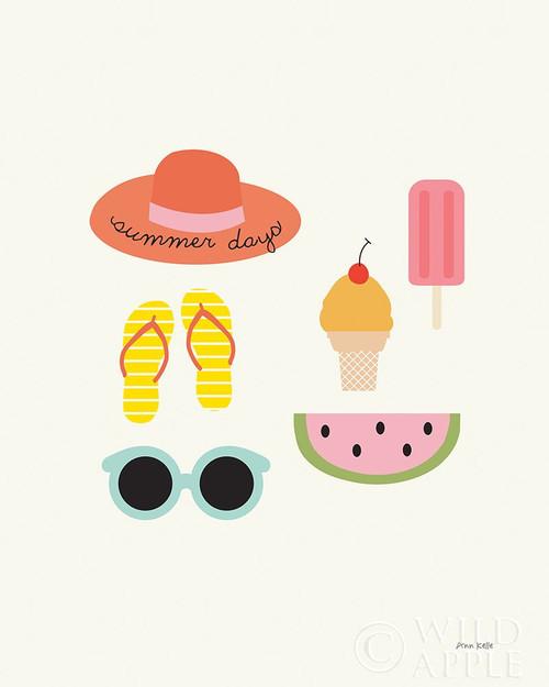 Summer Daze I Poster Print by Ann Kelle # 61257