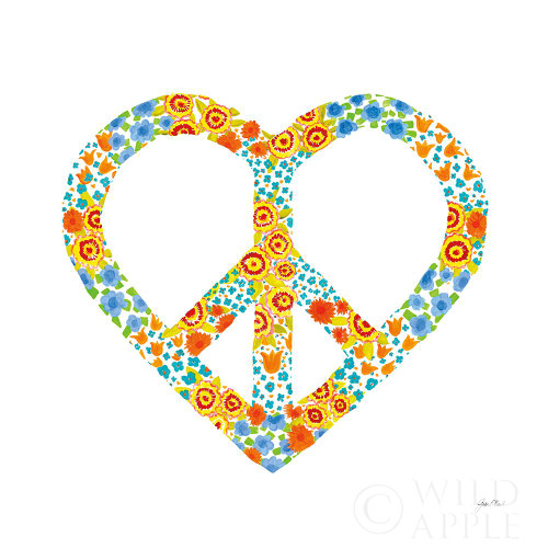 Peace and Love II Poster Print by Joan E. Davis # 60830
