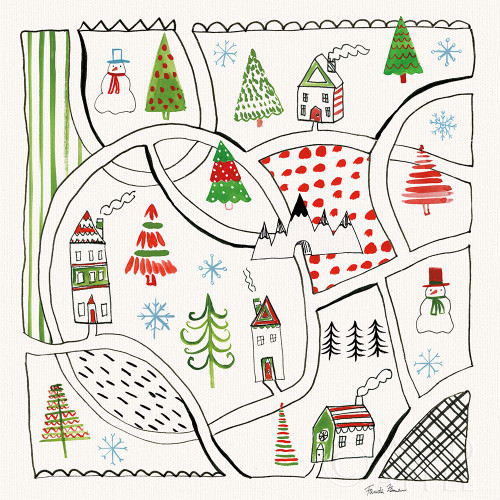 Neighborhood Holiday V Poster Print by Farida Zaman # 60864