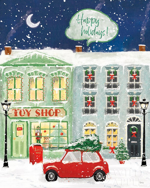 Hometown Holiday III Poster Print by Veronique Charron # 60898