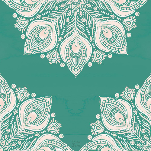 Bohemian Vibes Pattern VIIG Poster Print by Dina June # 60803
