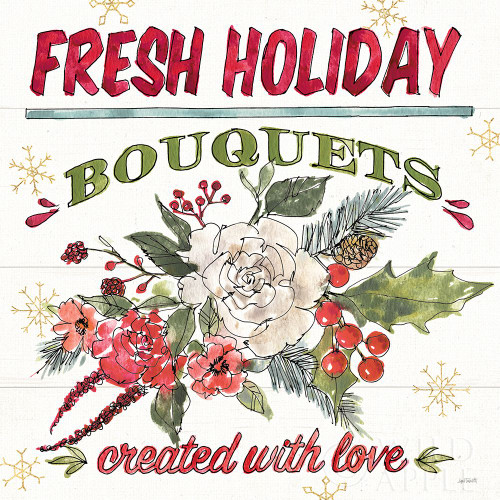 Lighthearted Holiday VII Poster Print by Anne Tavoletti # 60678
