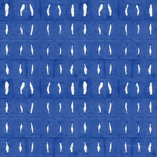 Aquarelle Blue VII Poster Print by Nancy Green # 60564